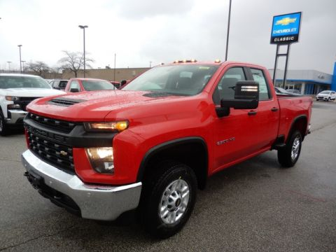 New 2020 Chevrolet Silverado 2500HD K2500 EXT CAB PU 4WD Double Cab