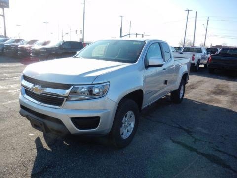 New 2020 Chevrolet Colorado WT EXT CAB 4WD Extended Cab