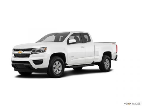 New 2020 Chevrolet Colorado WT EXT CAB