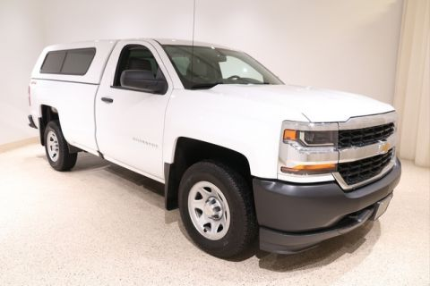 Certified Pre-Owned 2018 Chevrolet Silverado 1500 WT W/ Cap 4WD Regular Cab