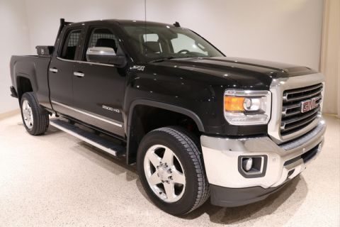 Certified Pre-Owned 2015 GMC Sierra 2500HD SLT 4X4 4WD Double Cab